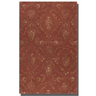 Uttermost Geneva Crimson Wool Rug (8' x 10')
