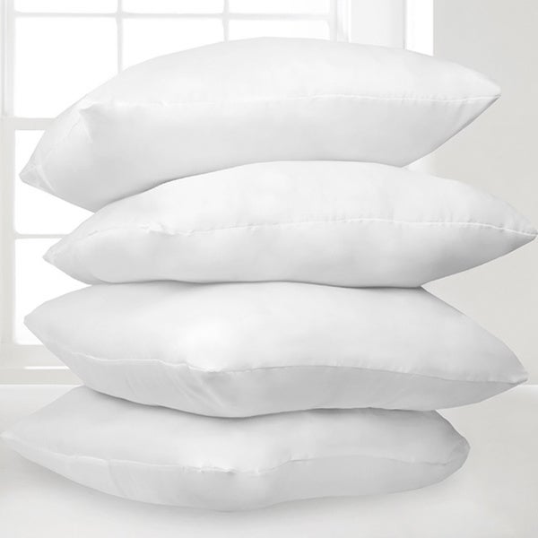 Soft Down Alternative Hypoallergenic Pillows (Set of 4)