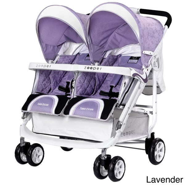 Zooper Tango Escape Lightweight Double Stroller