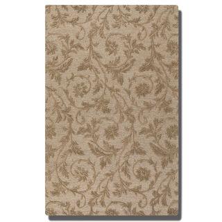 Uttermost Licata Desert Sand Wool Rug (5' x 8')