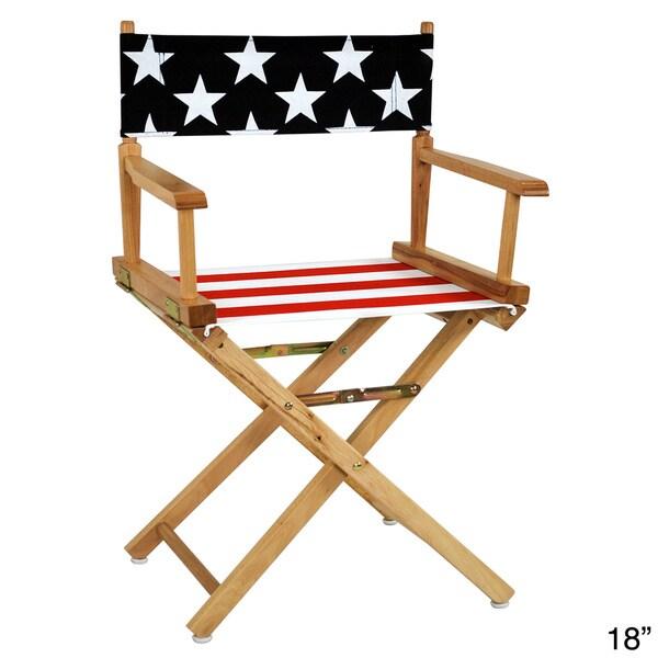 American Flag Directors Chair