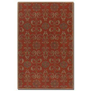 Uttermost Favara Red Wool Rug (8' x 10')