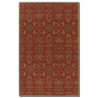 Uttermost Favara Red Wool Rug (5' x 8')