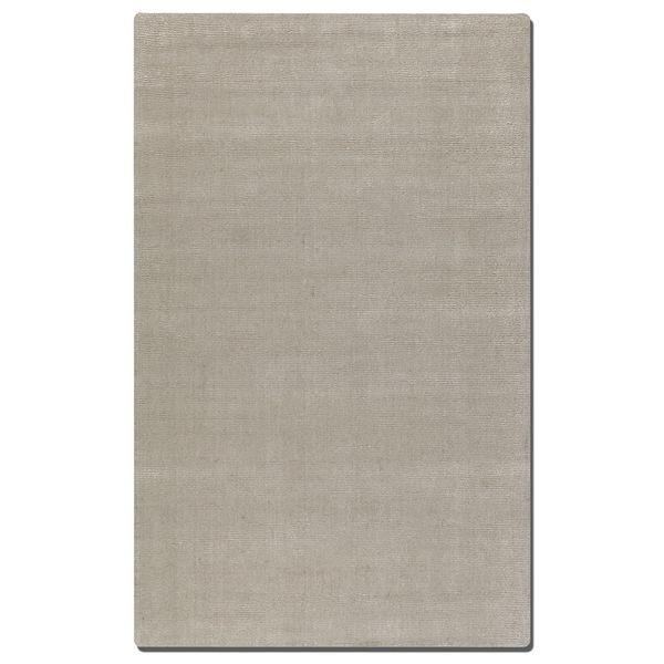 Uttermost Rhine Cloud White Wool Rug (8' x 10') - 8' x 10'