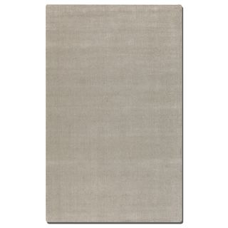 Uttermost Rhine Cloud White Wool Rug (5' x 8')