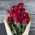 The Bouqs Volcano Collection 'Depth' Original Red Flower Bouquet
