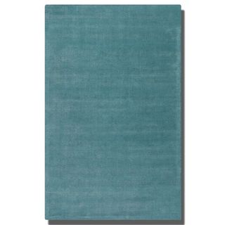 Uttermost Rhine Cerulean Blue Wool Rug (8' x 10')
