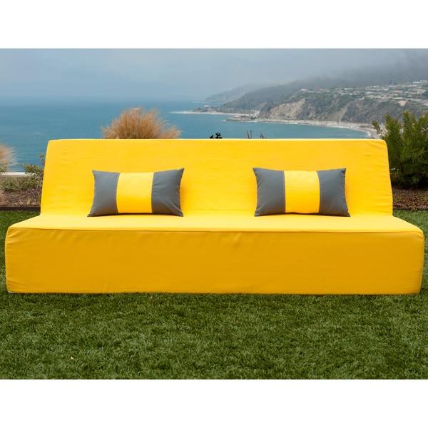 Softblock LowBoy Yellow Indoor/Outdoor Sofa - Free Shipping Today ...