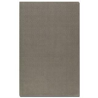 Uttermost Cambridge Warm Grey Wool Rug (8' x 10')