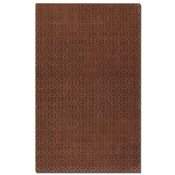 Uttermost Cambridge Cinnamon Wool Rug - 8' x 10'