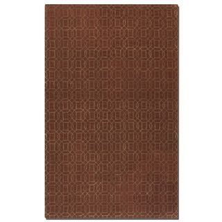 Uttermost Cambridge Cinnamon Wool Rug (5' x 8')