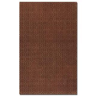 Uttermost Cambridge Cinnamon Wool Rug (5' x 8') - 5' x 8'