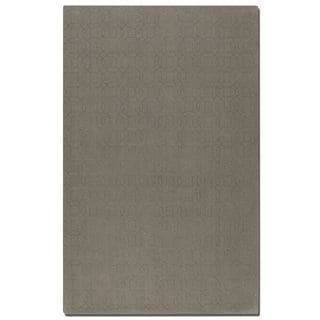 Uttermost Cambridge Warm Grey Wool Rug (5' x 8')