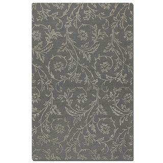 Uttermost Licata Blue Grey Wool Rug (5' x 8')