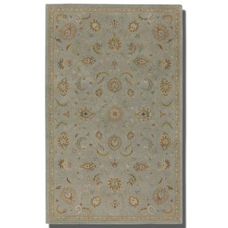 Uttermost Torrente Powder Blue Wool Rug (5' x 8')