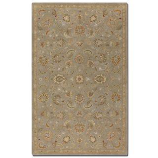 Uttermost Torrente Light Grey Wool Rug (8' x 10')