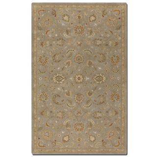 Uttermost Torrente Light Grey Wool Rug (5' x 8')