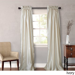 Heritage Landing 108 inch Faux Silk Lined Curtain Panel Pair