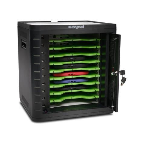 Kensington Charge & Sync Cabinet, Universal Tablet - Black