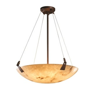Justice Design Group LumenAria 6-light Tapered Clip Dark Bronze Pendant