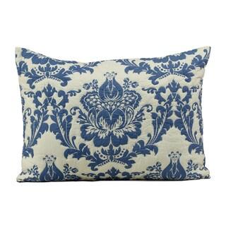 Dalilah Blue Cotton Standard Sham