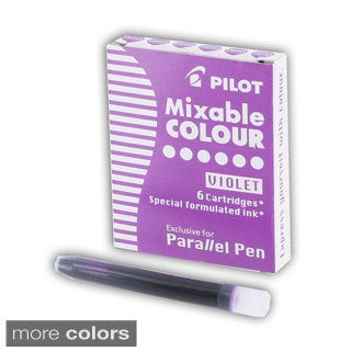 Pilot Parallel Pen Ink Refills For Calligraphy Pens (Pack of 6)