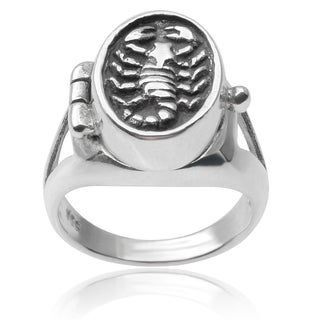 Journee Collection Sterling Silver Scorpion Ring