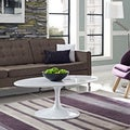 "Lippa 42"" White Coffee Table"