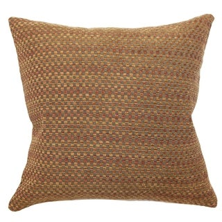 Saenu Weave Feathered Filled Throw Pillow