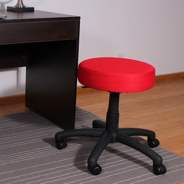 'The Dot' Adjustable Gas-lift Mesh Stool. Opens flyout.