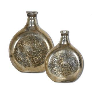 Uttermost Euryl Glass Vases (Set of 2)