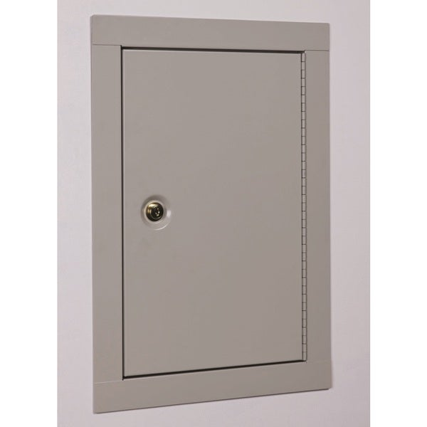 Stack-On Mid Sized In Wall Security Cabinet