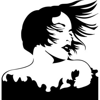 Sexy Lady Vinyl Wall Decal