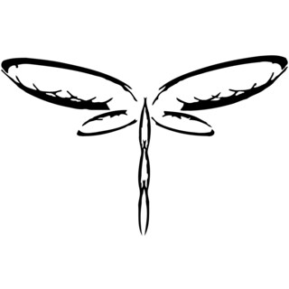 Dragonfly Vinyl Wall Decal