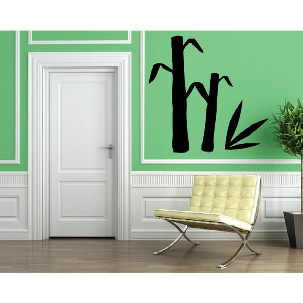Bamboo Vinyl Wall Decal  sc 1 st  Overstock & Shop Bamboo Vinyl Wall Decal - Free Shipping On Orders Over $45 ...