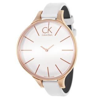 Calvin Klein Women's K2B23601 'Glow' Rose Gold PVD Stainless Steel Swiss Quartz Watch|https://ak1.ostkcdn.com/images/products/9091257/P16280421.jpg?impolicy=medium