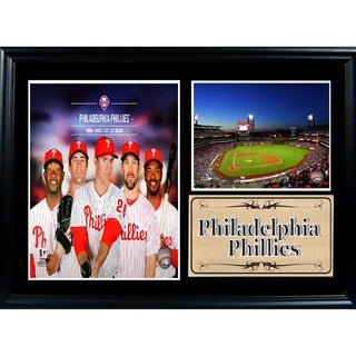 MLB 2014 Philadelphia Phillies Photo Stat Frame