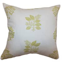 Thaisa Floral Down Filled Throw Pillow
