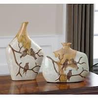 Uttermost Pajaro Ceramic Vases (Set of 2)