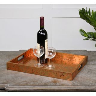 Uttermost Ambrosia Wood Tray
