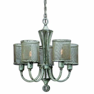 Uttermost Pontoise 5-light Antique Ivory Chandelier