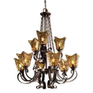 Uttermost Vetraio 9-light Oil Rubbed Bronze Metal Chandelier