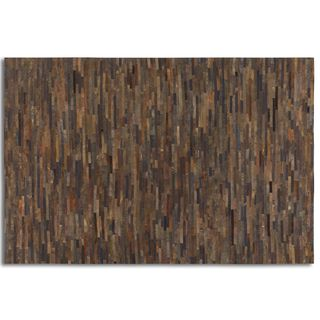 Uttermost Malone Suede Leather Rug (8' x 10') - 8' x 10'