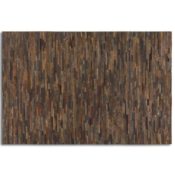 Uttermost Malone Suede Leather Rug (5' x 8') - 5' x 8'