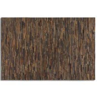 Uttermost Malone Suede Leather Rug - 5' x 8'
