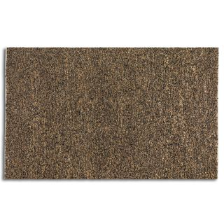 Uttermost Tufara Brown Rescued Leather Rug (5' x 8')