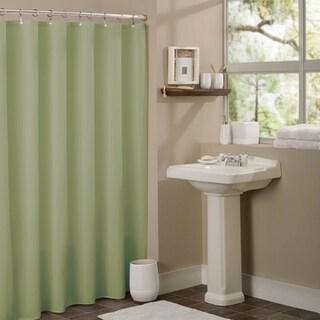 Anti-mildew Vinyl Shower Curtain Liner (Option: Sage)