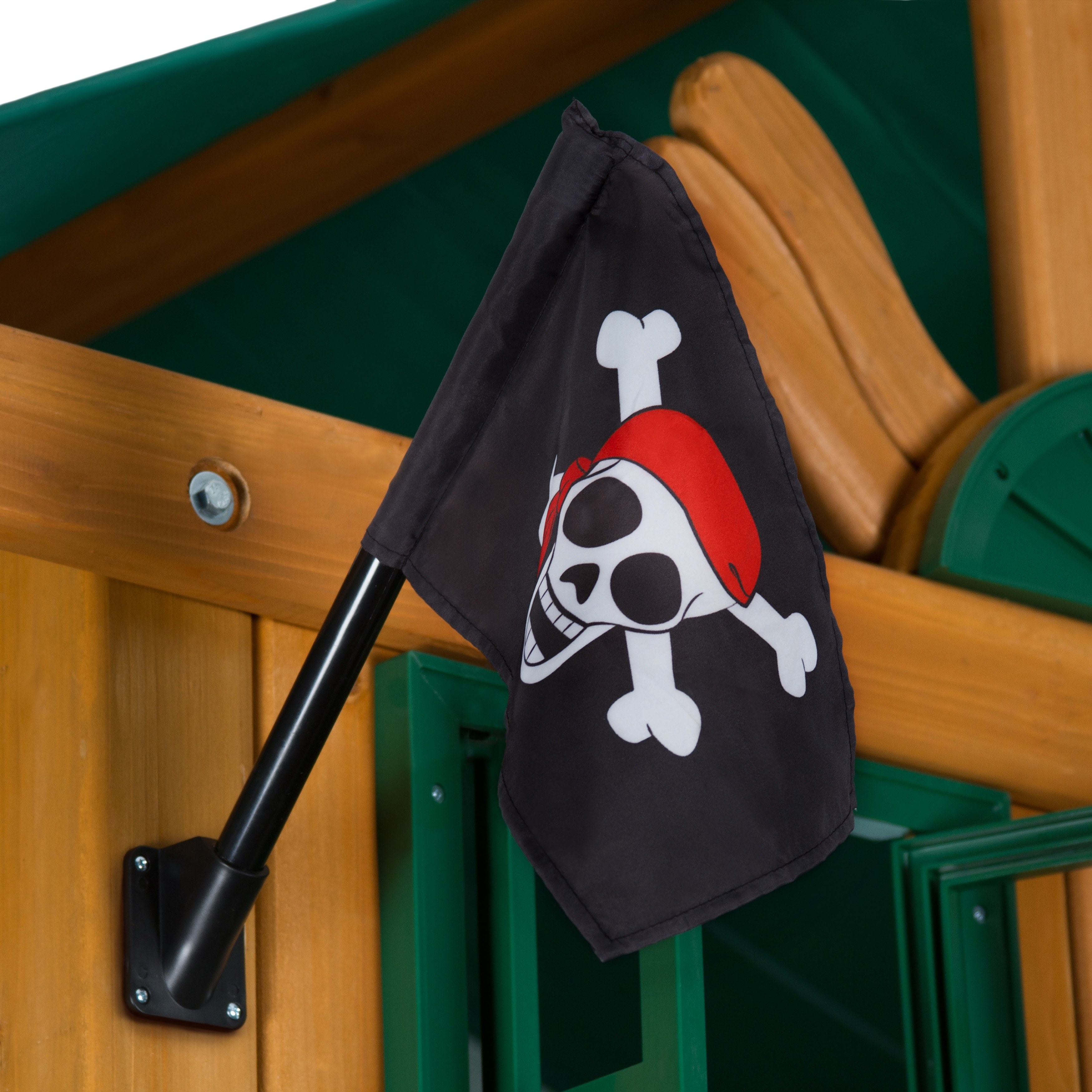 Gorilla Playsets Pirate Flag (Pirate Flag), Black
