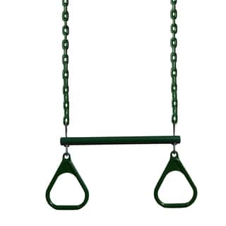 Gorilla Playsets 17-inch Trapeze Bar with Rings