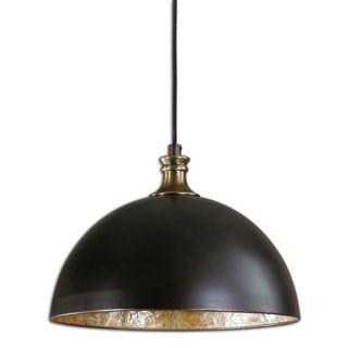 Uttermost Placuna 1-light Pacific Bronze Pendant